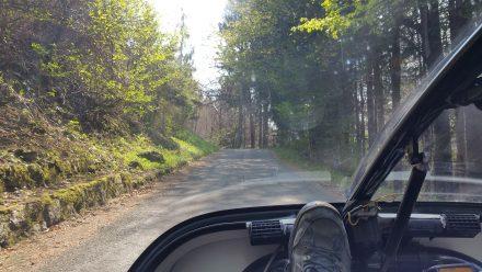TW560's favourite diet deserted single lane roads