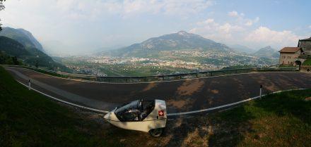 Trento valley
