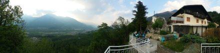 "View from our restaurant ""la Roccia"""