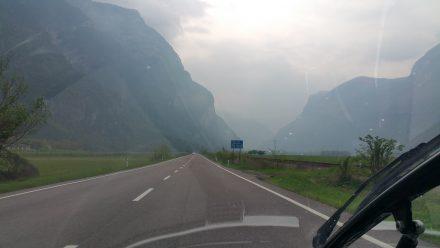The last hills before 'la pianura'