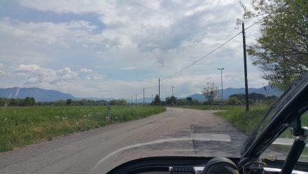 Slovenia's hills beckon on the horizon