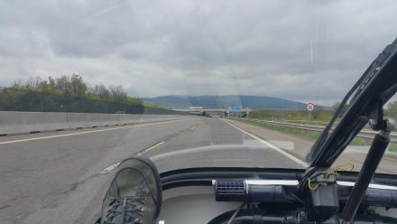 Just many (nearly) flat kilometres to Budapest