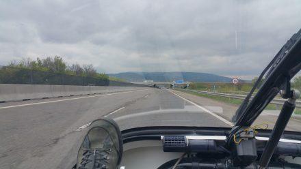 Just many (nearly) flat kilometres to Budapest