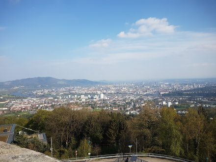 Beautiful Linz from above