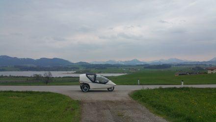 Skirting along the mountains towards Salzburg