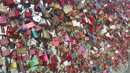 Salzburg - love locks