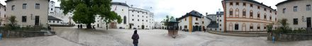 Salzburg castle - we're nearly the only ones here