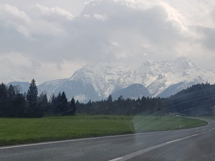 Ahh. The alps! We're looking forward to them!