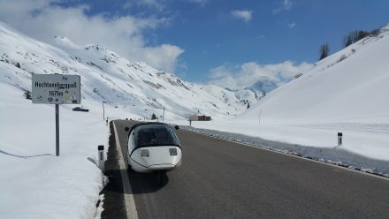 Hochtannbergpass - Winter wonderland
