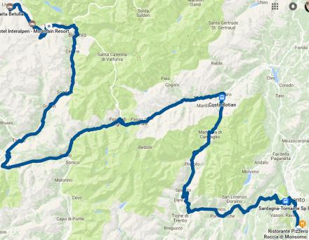 TDE2017 - day 2 GPS track