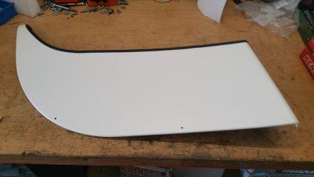 Wheel case cover