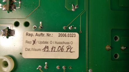 The board already had been repaired ... 11 years ago