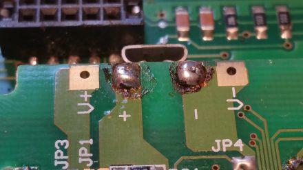 Yuk! Awful soldering