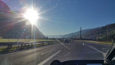 On our way towards Chur
