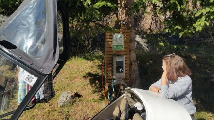Nature, private charging point