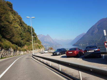 Last few km in Switzerland