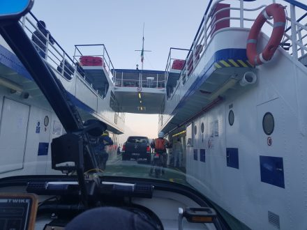 Very small ferry