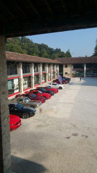 Italian Mustang club meeting