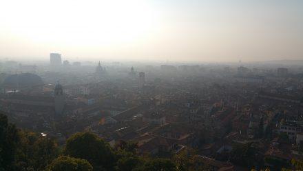 View of Brescia from Brescia's castle