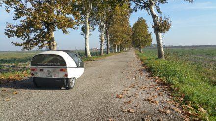 Beautiful single lane roads