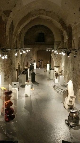 An interesting sculpture exhibition
