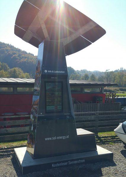 100% solar charging