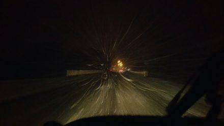 Finally, some snow