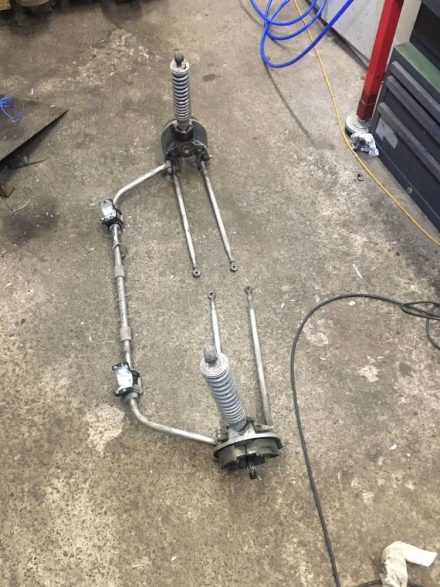 Stabilizer & shock absorber assembly