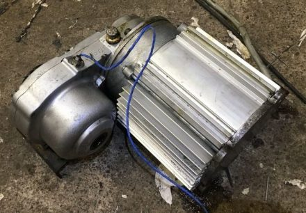 Clean Motor/gearbox assembly