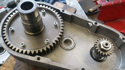 New ball bearings - everything looks like new!