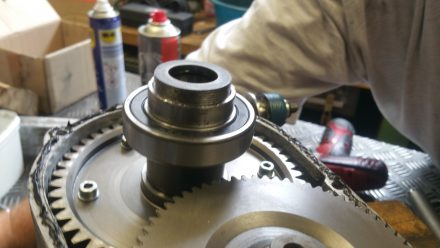 Second main ball bearing - new of course!