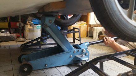 Last steps - lowering TW600 carefully