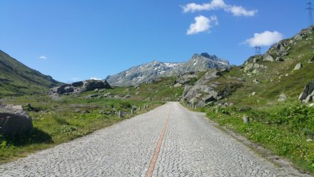 Old road up the Gotthard