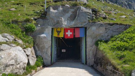 Until 2008 this was a top-secret entrance