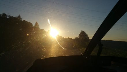 Driving on sunshine :)