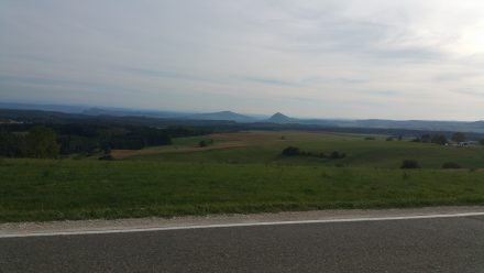 Hohentwiel and Switzerland in the background