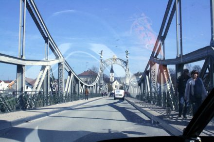Entering Austria from Germany