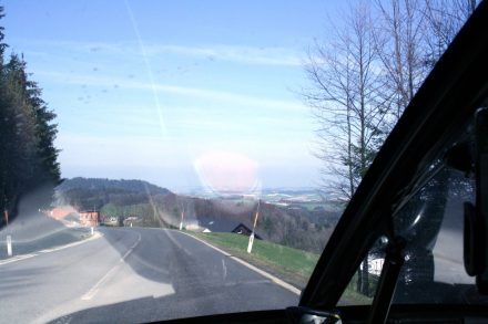 Linz in the background