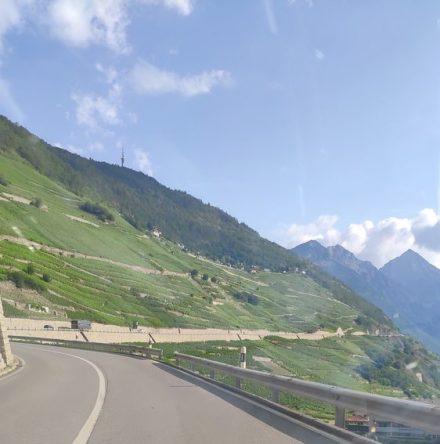 A long climb towards France