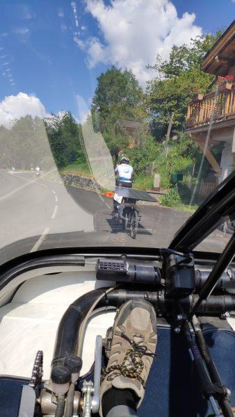 Solar powered biking!