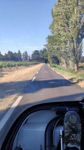 small single-lane roads...again