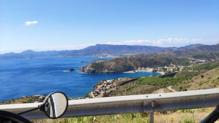 Spain greets me with spectacular views