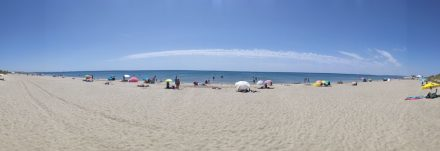 National Holiday and the beach is still virtually empty