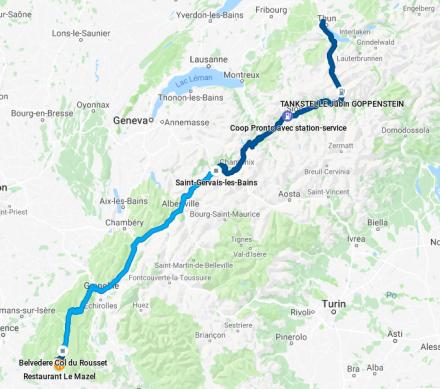 TDE2019 - Day 2 GPS track