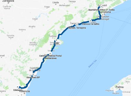 TDE2019 - Day 5 GPS track