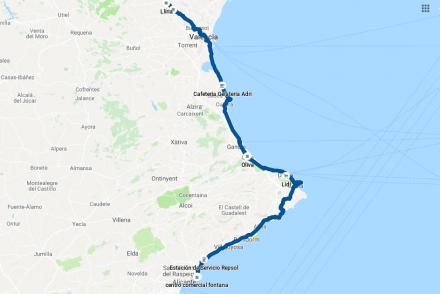 TDE2019 - Day 6 GPS track