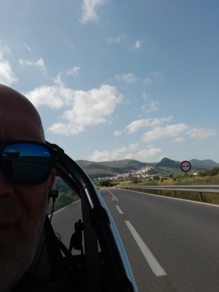 Leaving the hills behind me