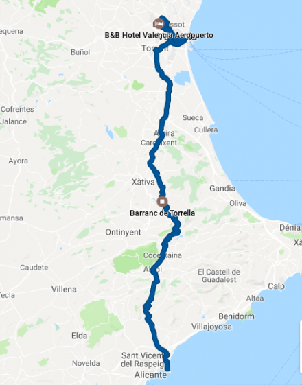 TDE2019 - Day 7 - GPS track