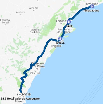 TDE2019 - Day 8 - GPS track