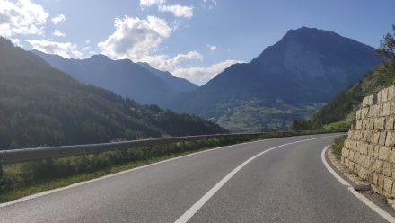 I love the hills and roads here